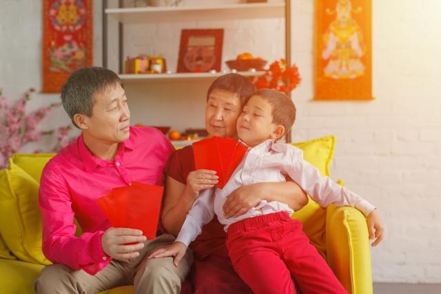 中国の正月(元旦)と春節